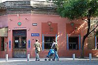 RESTAURANTE ETNICO MEXICANO EN CALLE GURRUCHAGA, BARRIO DE PALERMO VIEJO O SOHO, BUENOS AIRES, ARGENTINA
