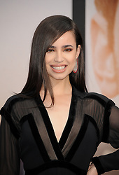 Sofia Carson at the premiere of Amazon Prime Video's 'Chasing Happiness' held at the Regency Bruin Theatre in Westwood, USA on June 3, 2019.