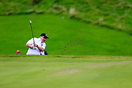 Noel Malone (Ardee) during the final round of the All Ireland Four Ball Inter club Final, Roe Park resort, Limavady, Derry, Northern Ireland. 15/09/2019.<br /> Picture Fran Caffrey / Golffile.ie<br /> <br /> All photo usage must carry mandatory copyright credit (© Golffile | Fran Caffrey)
