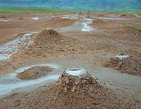 Georgia, Takhti Tepa Nature Reserve, Georgia, mud volcano