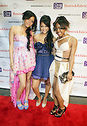 """l to r: Larissa, Kat De Luna and Havanna at """" The Ultimate Prom"""" presented by Universal Motown and Mypromstyle.com held at Pier 60 at Chelsea Piers in New York City."""