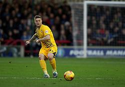 James Clarke of Bristol Rovers passes the ball - Mandatory byline: Robbie Stephenson/JMP - 07966 386802 - 26/12/2015 - FOOTBALL - Kingsmeadow Stadium - Wimbledon, England - AFC Wimbledon v Bristol Rovers - Sky Bet League Two
