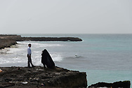 beach of Kish island in the persian gulf Iran
