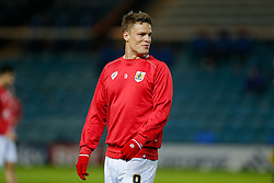 Matt Smith of Bristol City (newly signed on loan from Fulham) looks on before the match - Photo mandatory by-line: Rogan Thomson/JMP - 07966 386802 - 28/11/2014 - SPORT - FOOTBALL - Peterborough, England - ABAX Stadium - Peterborough United v Bristol City - Sky Bet League 1.