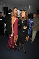Left to right, ELLE MACPHERSON and JERRY HALL at the GQ Men of the Year Awards held at the Royal Opera House, London on 2nd September 2008.<br /> <br /> NON EXCLUSIVE - WORLD RIGHTS