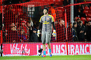 Petr Cech (33) of Arsenal warming up before the Premier League match between Bournemouth and Arsenal at the Vitality Stadium, Bournemouth, England on 3 January 2017. Photo by Graham Hunt.