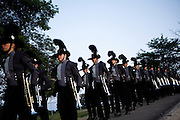 The Oregon Marching Band performs in Sun Prairie, Wisconsin on July 4, 2008.