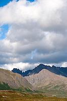 Eek Mountains, near Pegati Lake, Headwaters of the Kanektok River..shot in Alaska, USA..