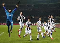 December 15, 2018 - Turin, Italy - Juventus team during Serie A match between Torino v Juventus, in Turin, on December 15, 2016  (Credit Image: © Loris Roselli/NurPhoto via ZUMA Press)