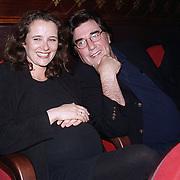 Premiere de Boekverfilming, Dick Maas en zwangere vrouw Esmee Lammers