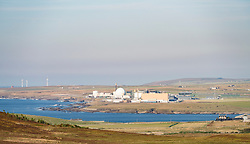 Dounray nuclear power station on north coast of Scotland at Caithness, United Kingdom
