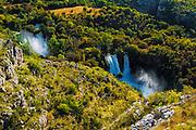 Manojlovac Falls, Krka National Park, Dalmatia, Croatia