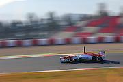 Paul Di Resta (GBR) drives the Sahara Force India F1 Team VJM05 Formula One Testing, Circuit de Catalunya, Barcelona, Spain, World Copyright: Jamey Price
