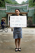 Avril Lui - 22 Yrs.<br /> Post grad student.<br /> Guangxi Province.<br /> <br /> 'We are the lost generation. I'm confused about the world'.