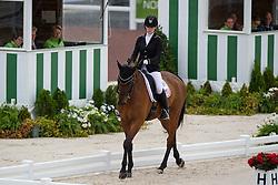 Angela Peavy, (USA), Ozzy Copper - Team Competition Grade III Para Dressage - Alltech FEI World Equestrian Games™ 2014 - Normandy, France.<br /> © Hippo Foto Team - Jon Stroud <br /> 25/06/14