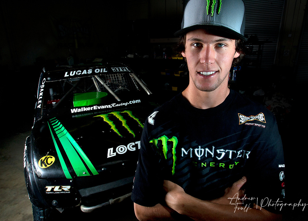 RJ Anderson, 19, just became youngest driver to win Lucas Oil Off-Road Truck title. Tuesday, October. 2, 2012.