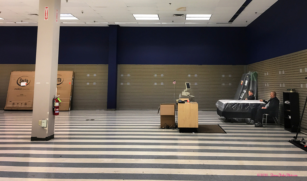 - The Sad, Last Days of Sears -<br /> After 54 years Sears in Whitehall Township closes on February 16, 2020. The few remaining workers and a liquidation company have been clearing out fixtures and selling inventory at dramatically reduced prices as they prepare to vacate the property.  An original mall anchor store, Sears opened in 1966 at 1259 Whitehall Mall on MacArthur Road in Whitehall, Lehigh County, Pa.. First situated at 600-606 N. Seventh Street, Allentown, before moving north the company was founded as Sears, Roebuck and Co. in Chicago in 1893.<br /> - Photography by Donna Fisher<br /> - ©2020 - Donna Fisher Photography, LLC                      - donnafisherphoto.com