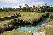 Fresh water pool and stream, Niuatoputapu, Tonga