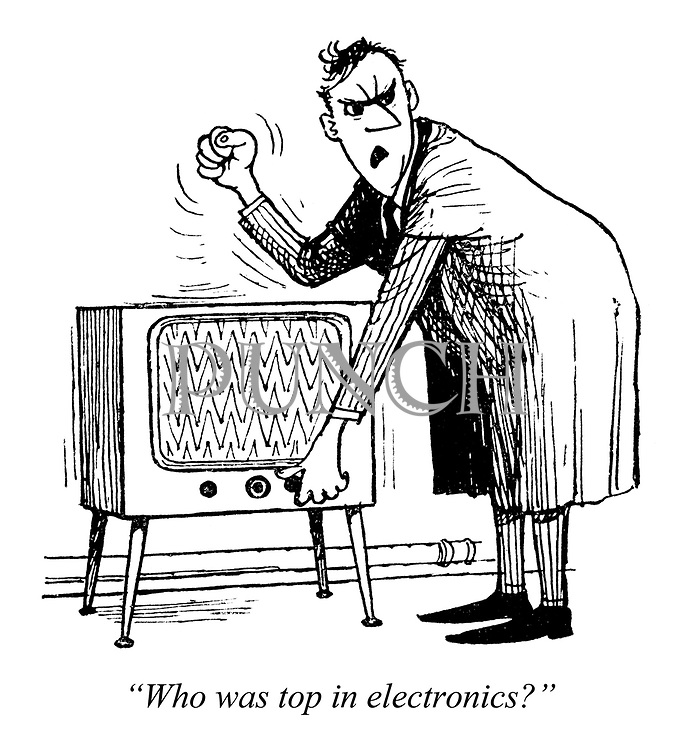 "Boffins for Britain. ""Who was top in electronics?"""