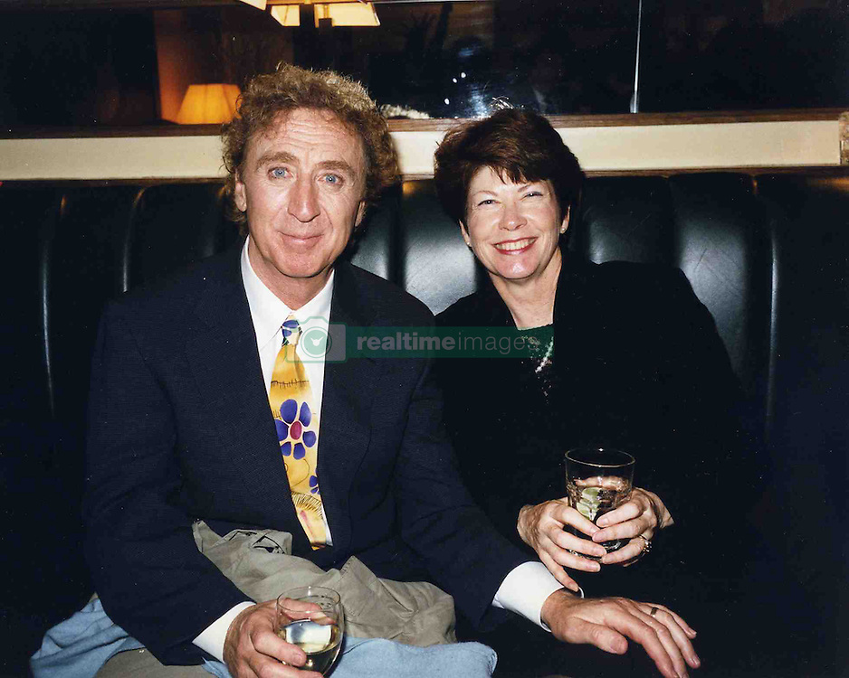 """1st night of """"Laughter on the 23rd Floor""""<br />Gene Wilder with his wife Karen Boyer / action press"""