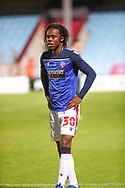 Peter Kioso  during the EFL Sky Bet League 2 match between Scunthorpe United and Bolton Wanderers at the Sands Venue Stadium, Scunthorpe, England on 24 November 2020.
