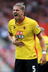13 August 2016 - Premier League - Southampton v Watford - Sebastian Prodl of Watford - Photo: Marc Atkins / Offside.