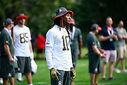 January 28 2016: Houston Texans wide receiver DeAndre Hopkins during the Pro Bowl practice at Turtle Bay Resort on North Shore Oahu, HI. (Photo by Aric Becker/Icon Sportswire)