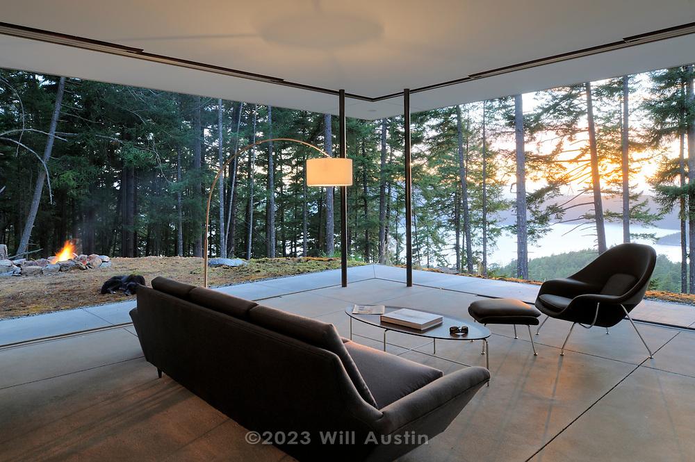 Orcas Island home designed by Gary Gladwish, Architect