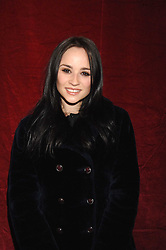 Actress EMMA PIERSON at a party to celebrate the opening of the new H&M store at 234 Regent Street, London on 13th February 2008.<br /><br />NON EXCLUSIVE - WORLD RIGHTS