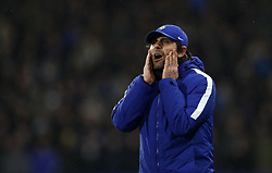 Chelsea manager Antonio Conte on the touchline