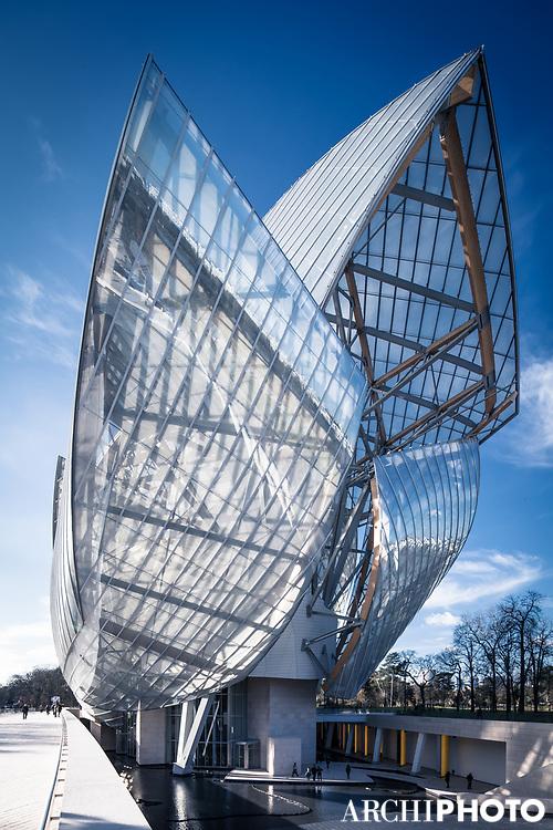 Frank O. Gehry • Fondation Louis Vuitton pour l'Art Contemporain, Paris