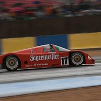 #17 Porsche 962, Christophe D'Ansembourg, Group C, Le Mans 24H, 2012