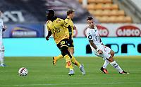 Fotball , 24. juli 2016 , EIiteserien ,Tippeligaen ,  <br /> Lillestrøm - Strømsgodset<br /> Bonke Innocent , LSK<br /> Marcus Pedersen , SIF