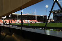 Rugby Union - 2020 / 2021 Gallagher Premiership - Round 16 - Gloucester vs Exeter Chiefs - Kingsholm<br /> <br /> A general view of Kingsholm, home of Gloucester Rugby.<br /> <br /> COLORSPORT/ASHLEY WESTERN