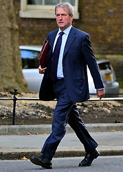 © Licensed to London News Pictures. 18/09/2012. Westinster, UK Environment Secretary.Owen Paterson. Cabinet meeting today in Downing Street 18 September 2012. Photo credit : Stephen Simpson/LNP