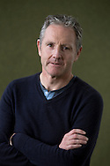 Acclaimed English writer Stewart Foster, pictured at the Edinburgh International Book Festival where he talked about his latest book entitled 'We Used to Be Kings'. The three-week event is the world's biggest literary festival and is held during the annual Edinburgh Festival. The 2014 event featured talks and presentations by more than 500 authors from around the world and was the 31st edition of the festival.