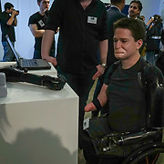 London,England,UK : 20 th June 2016 : Biomechatronics by Imperial College at the London Technology Week 2016 opening press day at The Yard,Worship Street, London. Photo by See Li