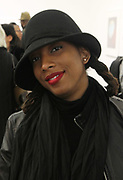 New York, NY-Jan. 11: Photographic Artist Ayana V. Jackson attends the Gordon Parks: I AM YOU Opening Reception presented by the Gordon Parks Foundation  held at the Jack Shanmain Gallery on January 11, 2018 in New York City.  (Photo by Terrence Jennings/terrencejennings.com)