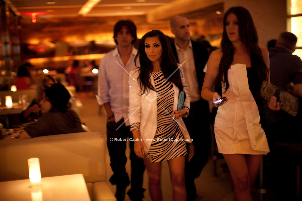 A night out with Kim Kardashian at Delicatessen, 54 Prince St.  New York, NY on Thursday, July 9, 2009.