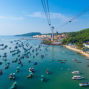 Panoramic View From Phu Quoc Island Cable Car
