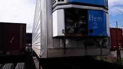 May 27, 2019 - Este lunes 17 de setiembre saldrán a la venta 19 furgones, plataformas y cabezales los cuales fueron decomisados al narcotráfico. Foto: ICD (Credit Image: © La Nacion via ZUMA Press)