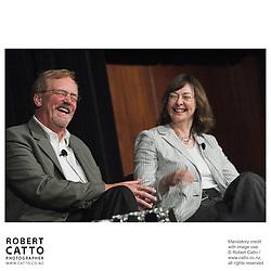 Rick Friesen;Karen Bieleski at the Spada Conference 06 at the Hyatt Regency Hotel, Auckland, New Zealand.<br />