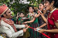 Uvita, Costa Rica: Sharat Raju faces his fiancée Valarie's relatives who block his passage to the wedding ceremony, demanding money in exchange.