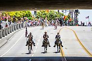 Old Spanish Days - Fiesta Historical Parade in Santa Barbara, California.