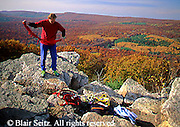 PA landscapes Rock Climbing, Repelling, Pole Steeple, Pine Grove Furnace State Park, Cumberland Co., PA Preparation