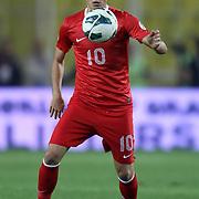 Turkey's Nuri Sahin during their FIFA World Cup 2014 qualifying soccer match Turkey betwen Romania at Sukru Saracoglu stadium in Istanbul october 12, 2012. Photo by TURKPIX