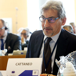 11 May 2017, 123rd Plenary Session of the European Committee of the Regions <br /> Belgium - Brussels - May 2017 <br /> <br /> Mr CATTANEORaffaele, Regional Councillor and President of the Lombardia Regional Council, taly<br /> <br /> © European Union / Patrick Mascart