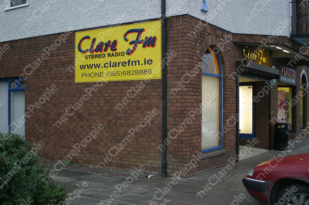Clare FM Radio Station<br /> Photograph by Yvonne Vaughan.