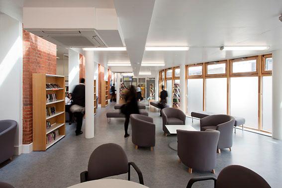 St Thomas More School; Buro Happold; ABK Architects; Exterior; Interiors; Dusk