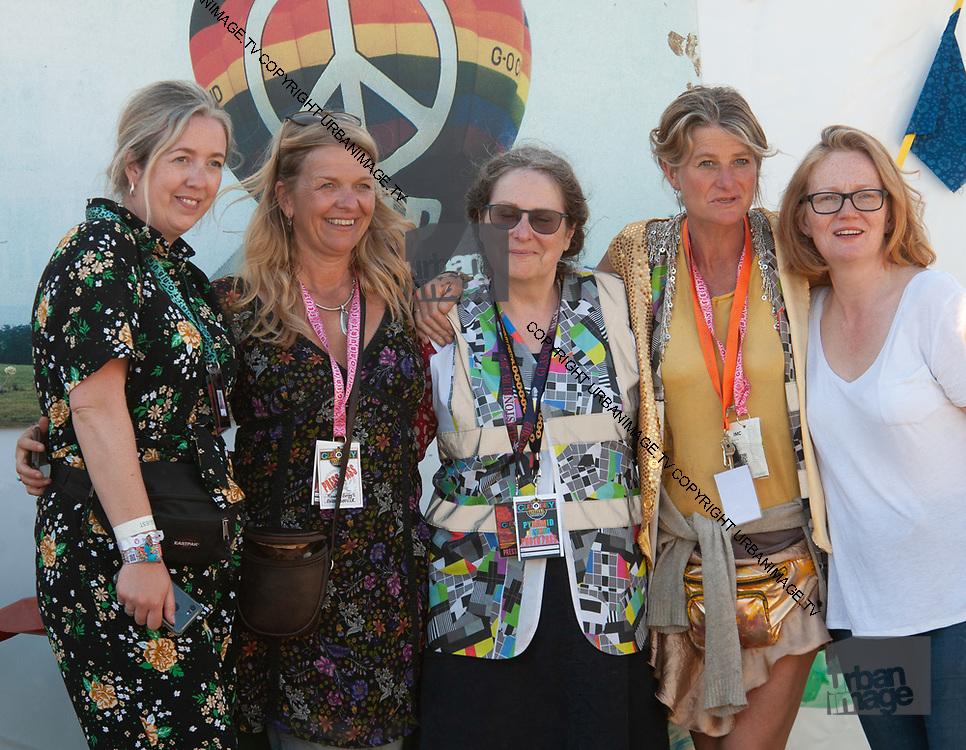 Glastonbury2019 Atmosphere The Press team